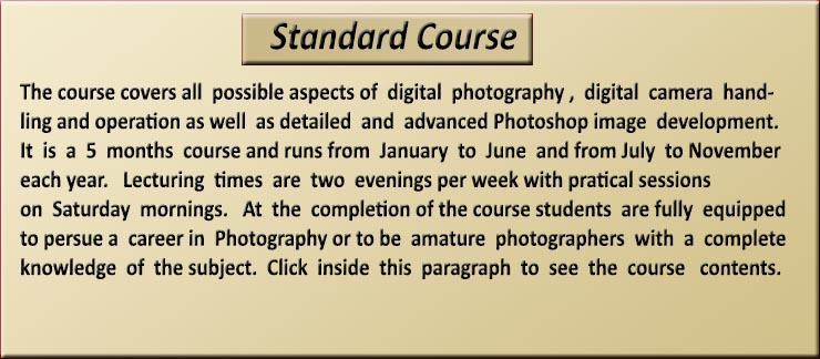 Click on image for more information about the Standard Course