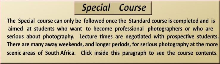 Click on image for more information about the Special Course